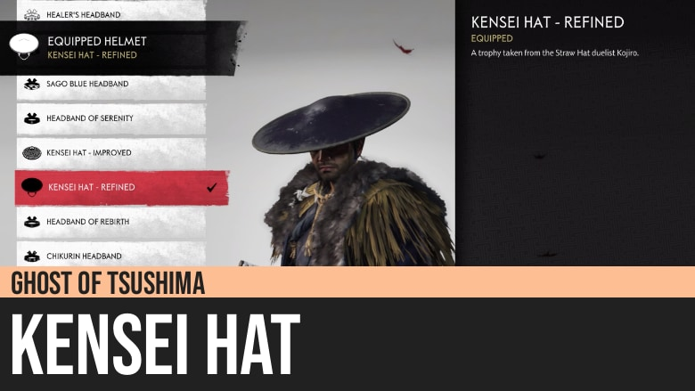 Ghost of Tsushima: Kensei Hat