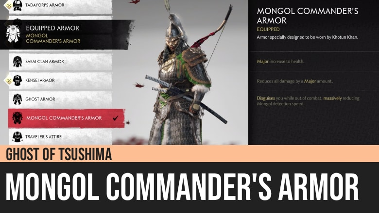 Ghost of Tsushima: Mongol Commander's Armor
