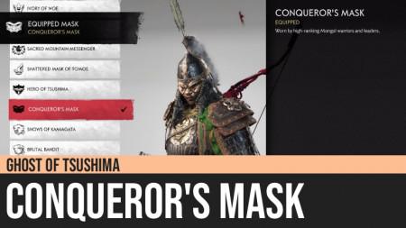 Ghost of Tsushima: Conqueror's Mask