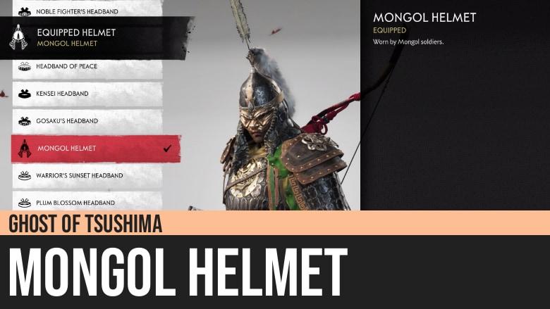 Ghost of Tsushima: Mongol Helmet Armor