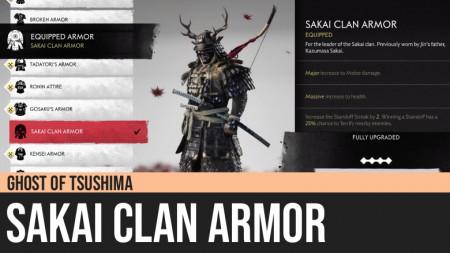 Ghost of Tsushima: Sakai Clan Armor