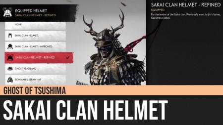 Ghost of Tsushima: Sakai Clan Helmet
