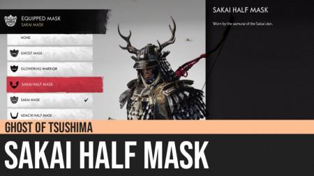 Ghost of Tsushima: Sakai Half Mask
