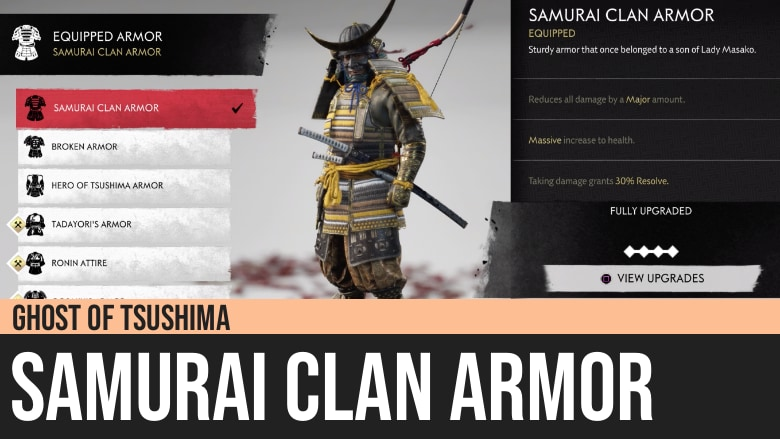 Ghost of Tsushima: Samurai Clan Armor