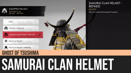 Ghost of Tsushima: Samurai Clan Helmet