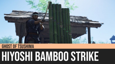 Ghost of Tsushima: Hiyoshi Bamboo Strike