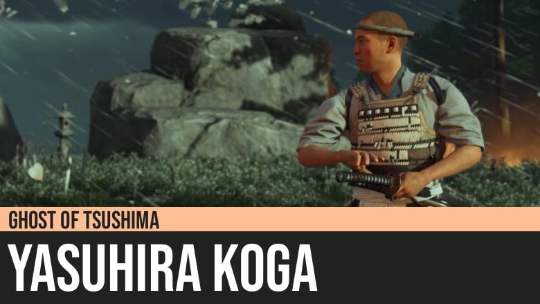 Ghost of Tsushima: Yasuhira Koga