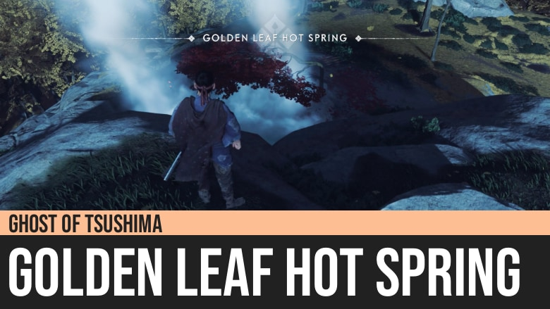Ghost of Tsushima: Golden Leaf Hot Spring