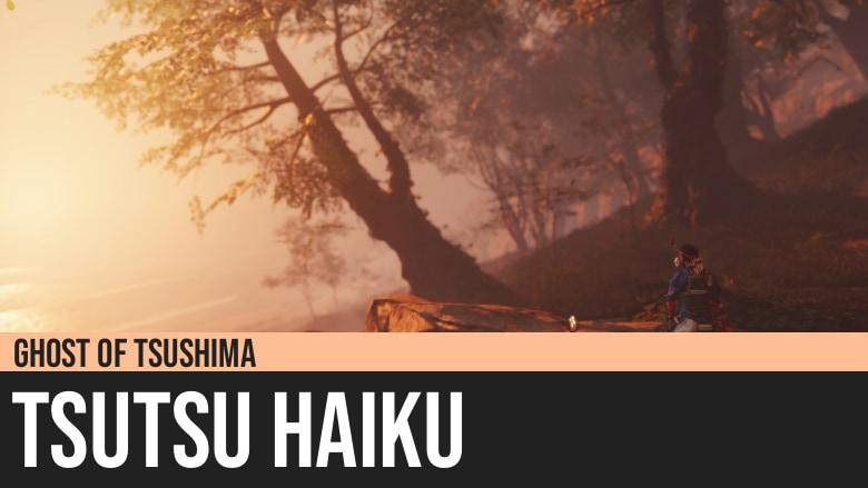 Ghost of Tsushima: Tsutsu Haiku