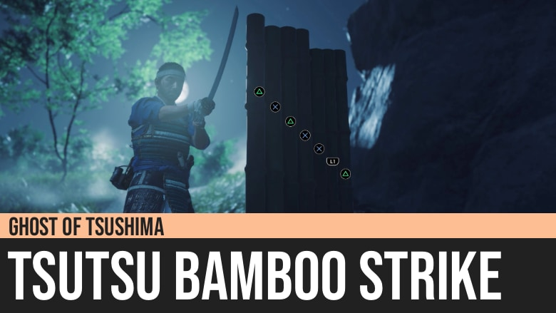 Ghost of Tsushima: Tsutsu Bamboo Strike