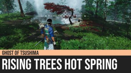 Ghost of Tsushima: Rising Trees Hot Spring