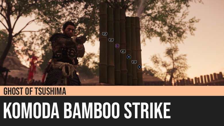Ghost of Tsushima: Komoda Bamboo Strike