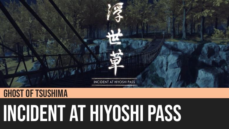 Ghost of Tsushima: Incident at Hiyoshi Pass
