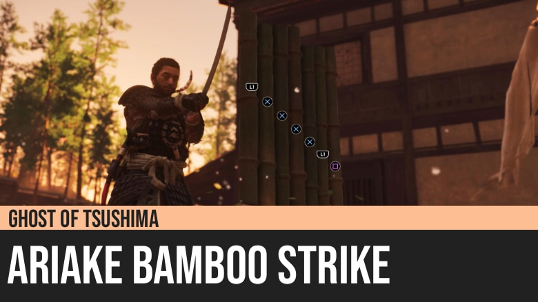 Ghost of Tsushima: Ariake Bamboo Strike