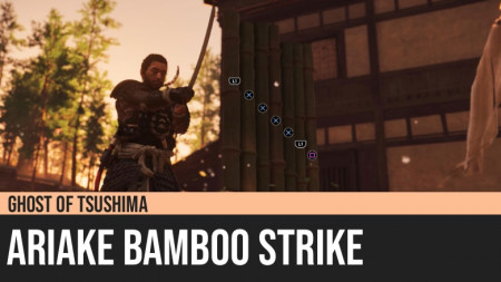 Ghost of Tsushima: Ariake Bamboo Strike