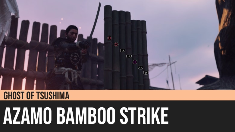 Ghost of Tsushima: Azamo Bamboo Strike