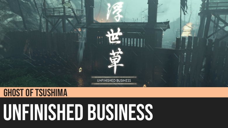 Ghost of Tsushima: Unfinished Business
