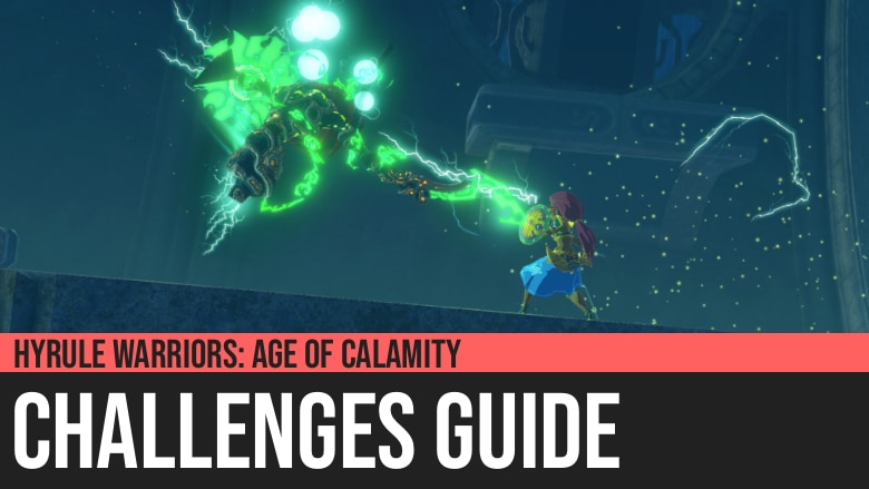 Hyrule Warriors: Age of Calamity - Sidon's Waterfall Workshop