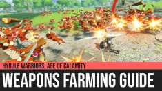 Hyrule Warriors: Age of Calamity - Weapons Farming Guide