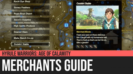 Hyrule Warriors: Age of Calamity - Merchants Guide