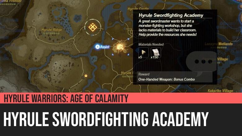 Hyrule Warriors: Age of Calamity - Hyrule Swordfighting Academy