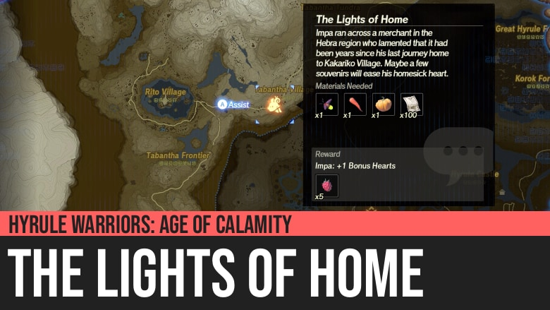 Hyrule Warriors: Age of Calamity - The Lights of Home