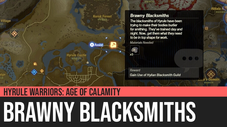 Hyrule Warriors: Age of Calamity - Brawny Blacksmiths