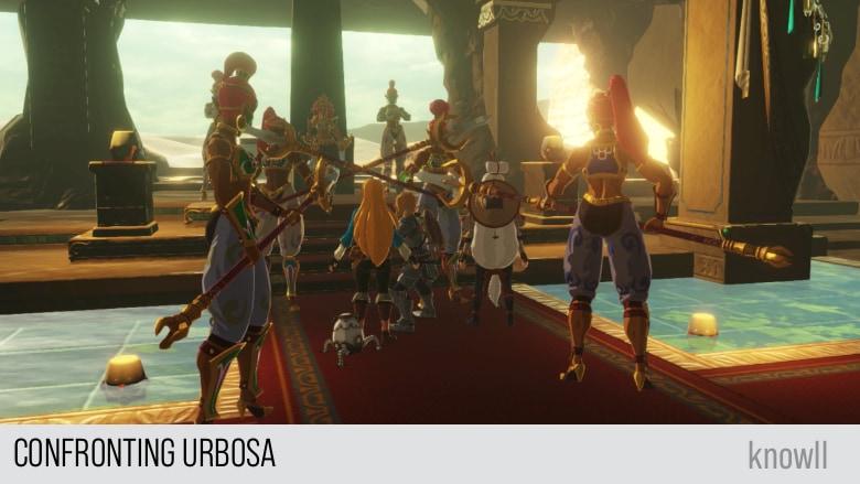 Hyrule Warriors Age Of Calamity Urbosa The Gerudo Chief