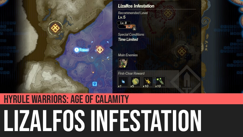 Hyrule Warriors: Age of Calamity - Lizalfos Infestation