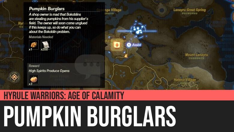 Hyrule Warriors: Age of Calamity - Pumpkin Burglars
