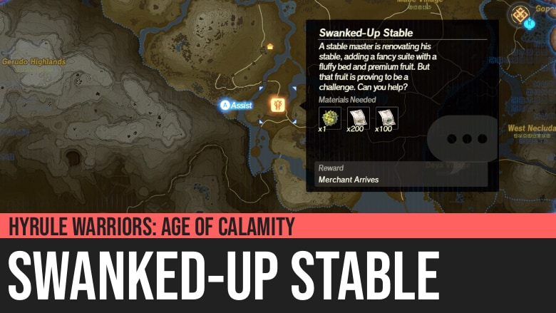 Hyrule Warriors: Age of Calamity - Swanked-Up Stable