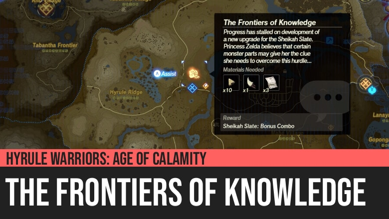 Hyrule Warriors: Age of Calamity - The Frontiers of Knowledge