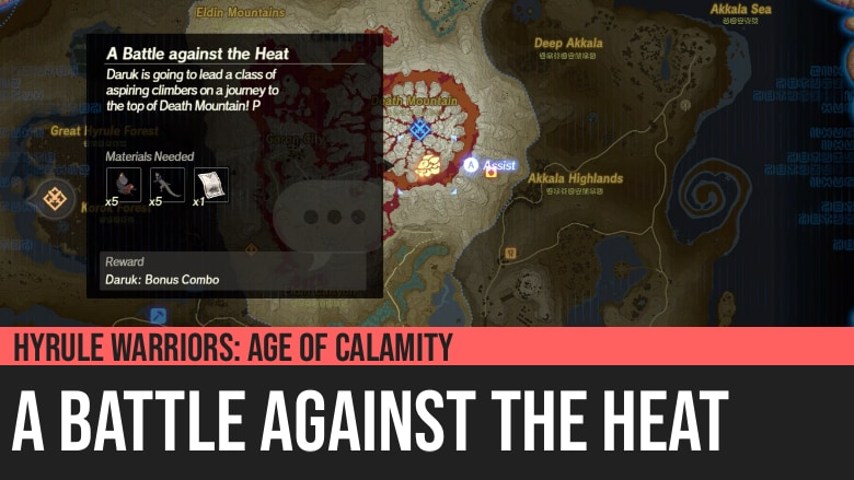 Hyrule Warriors: Age of Calamity - A Battle against the Heat