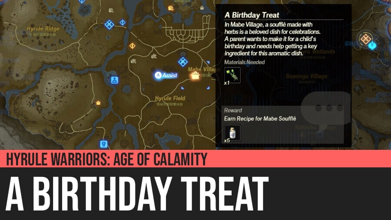 Hyrule Warriors: Age of Calamity - A Birthday Treat