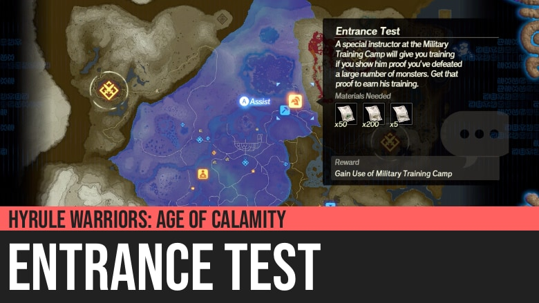 Hyrule Warriors: Age of Calamity - Entrance Test