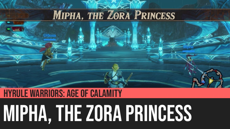 Hyrule Warriors: Age of Calamity - Mipha, the Zora Princess