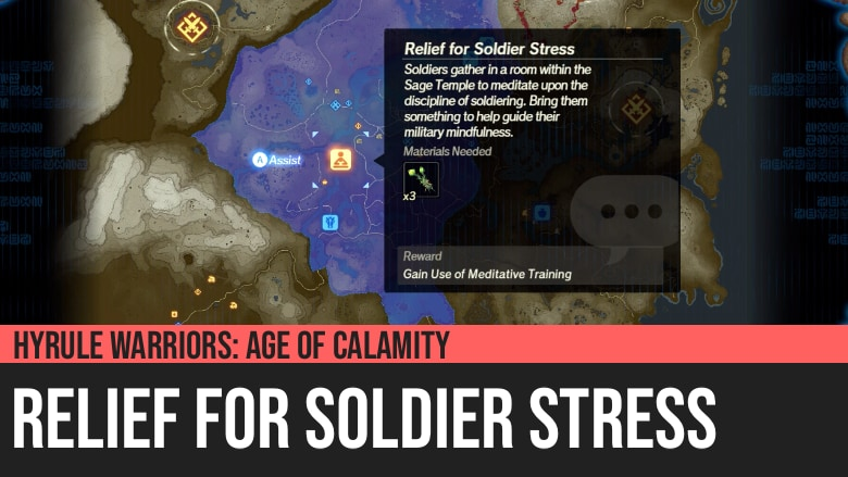 Hyrule Warriors: Age of Calamity - Relief for Soldier Stress
