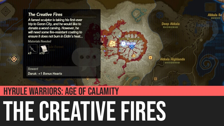 Hyrule Warriors: Age of Calamity - The Creative Fires