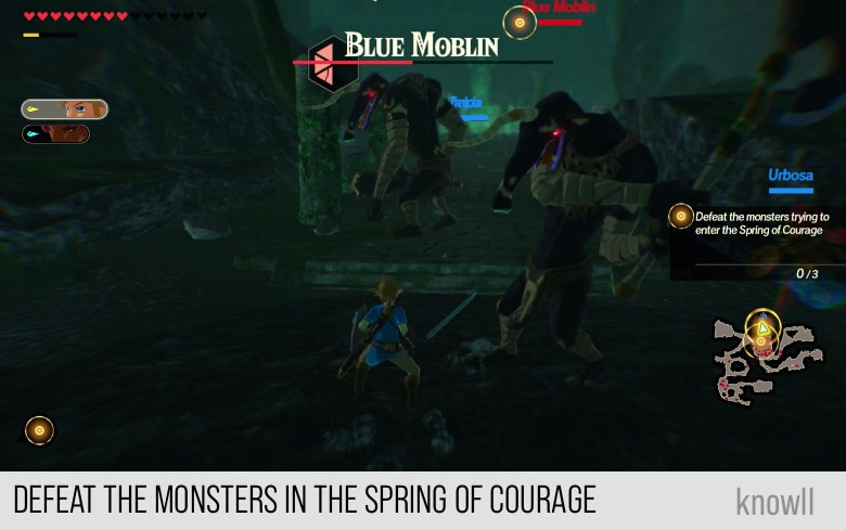 Hyrule Warriors Age Of Calamity When Courage Fails