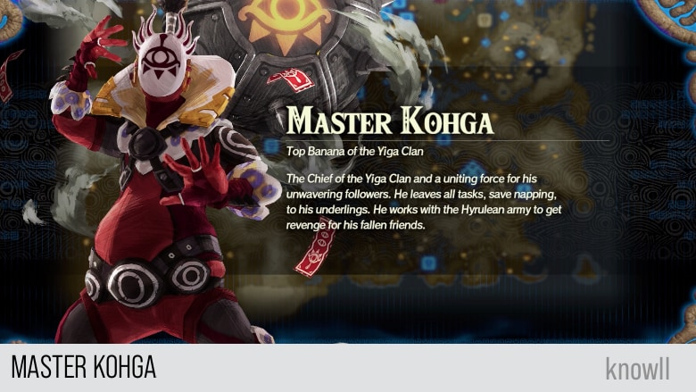 Hyrule Warriors Age Of Calamity Master Kohga Guide