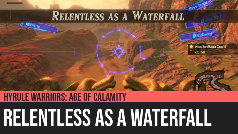 Hyrule Warriors: Age of Calamity - Relentless as a Waterfall