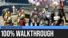 Monster Hunter Rise: 100% Walkthrough Guide