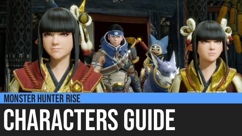 Monster Hunter Rise: Characters Guide