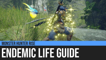 Monster Hunter Rise: Endemic Life Guide