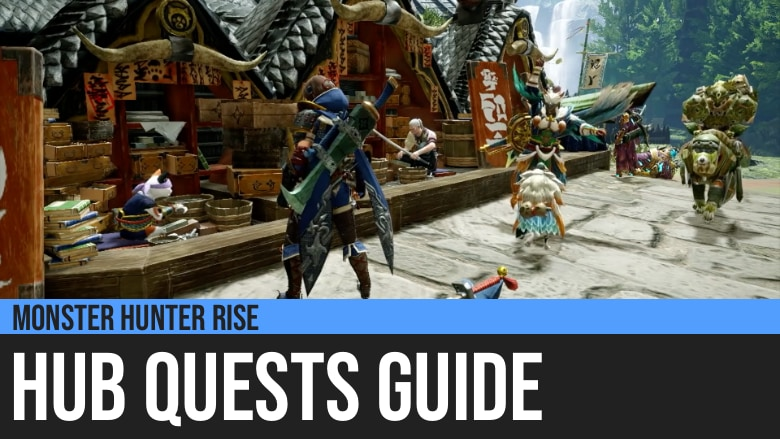 Monster Hunter Rise: Gathering Hub Quests Guide