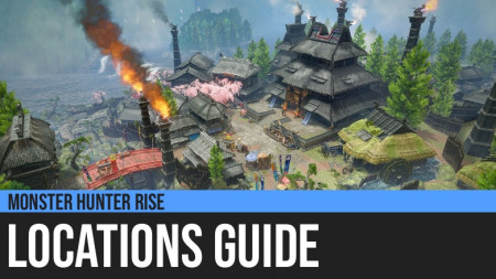 Monster Hunter Rise: Locations Guide